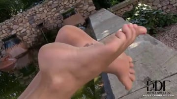 Charlotta - Alluring Tootsies and Tan Lines