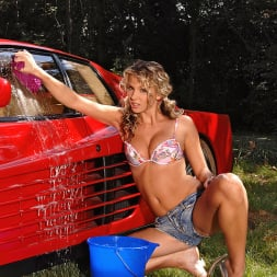 Gina in 'DDF' Rinsing The Red Ride! (Thumbnail 1)