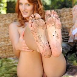 Denisa Heaven in 'DDF' Redhead goddess in the garden! (Thumbnail 16)