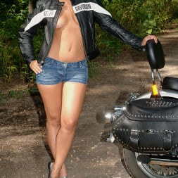 Eve Angel in 'DDF' The Harley Strip (Thumbnail 1)
