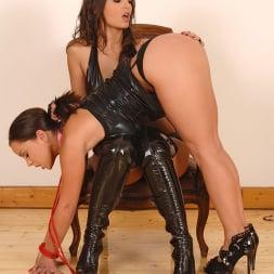 Liza Del Sierra in 'DDF' Kinky lesbian spanking in latex (Thumbnail 11)