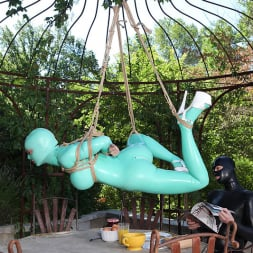 Latex Lucy in 'DDF' Suspended Penetration (Thumbnail 4)