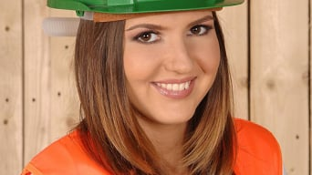 Agness in 'Construction Capers'