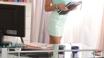 Kira Queen in 'Office Antics'