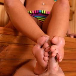 Nicole Vice in 'DDF' Sensual Sauna Job (Thumbnail 3)