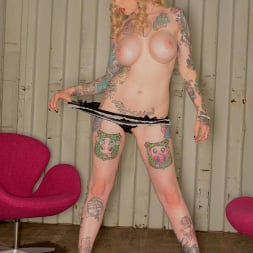 Hollie Hatton in 'DDF' Provocatively Inked (Thumbnail 8)