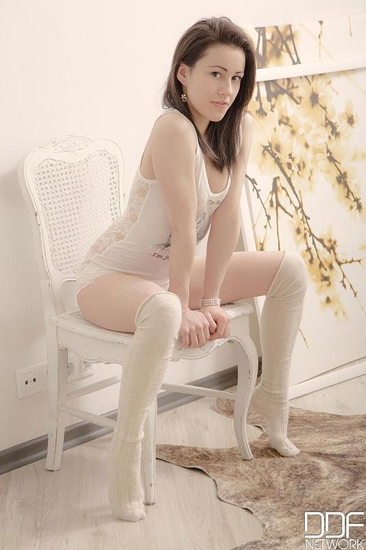DDF 'Stockinged Lover' starring Gabi (Photo 2)