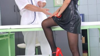 PussyKat in 'The Patient Wore Pantyhose'